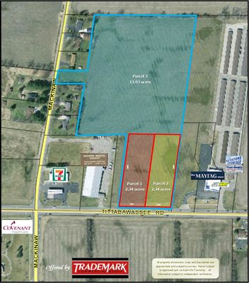 2.34 acre Tittabawassee Rd. Development Parcel TRADEMARK 989-792-6400